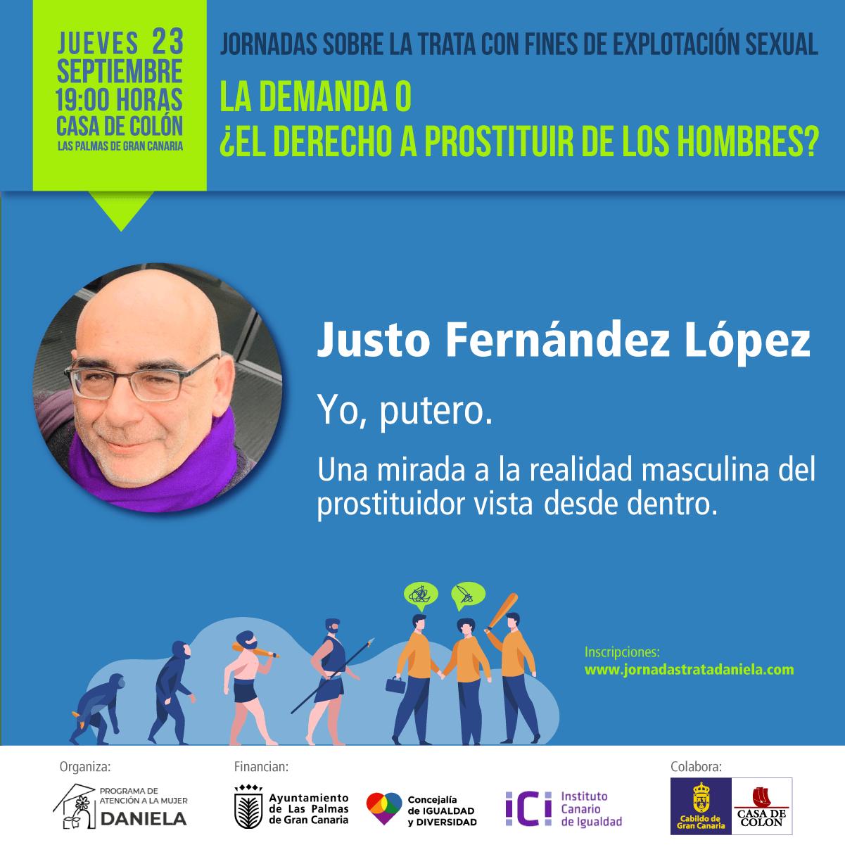 Cartela de Justo Fernández López